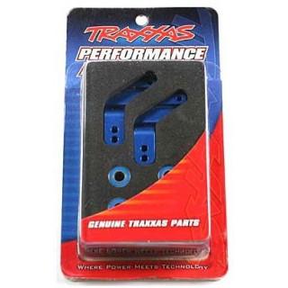 Traxxas - těhlice hliníková modrá (P+L)