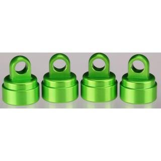 Traxxas - uzávěr tlumiče US hliník zelený (4)