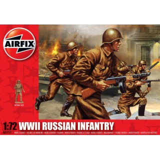 Classic Kit figurky A01717 - WWII Russian Infantry (1:72)