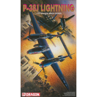 Model Kit letadlo 5018 - P-38J LIGHTNING (1:72)