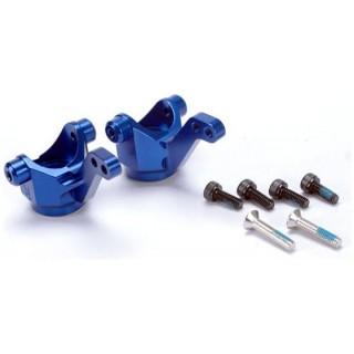 4-Tec - těhlice přední hliník modrý