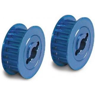 4-Tec - ozubené kolo řemenu 15T hliník modrý
