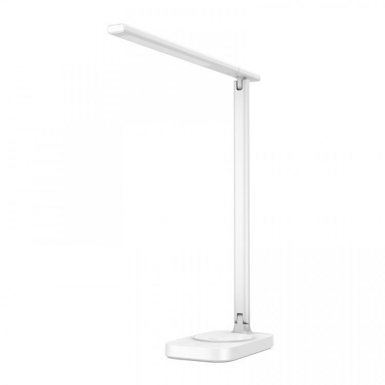 Intelligent LED Lamp with Wireless Charging