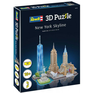 3D Puzzle REVELL 00142 - New York Skyline