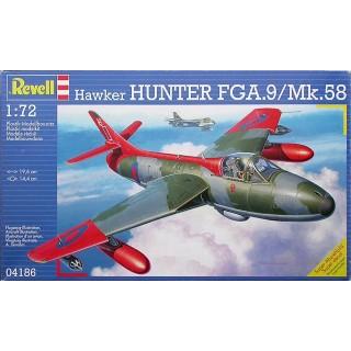 Revell 04186 Hawker Hunter FGA.9/Mk.58 - rozbaleno