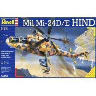 Revell 04405 Mil Mi-24D Hind - rozbaleno