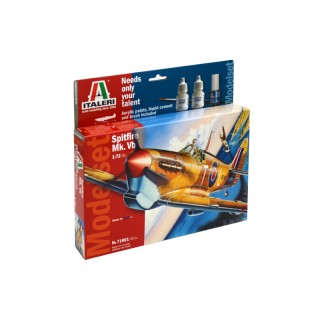 Model Set letadlo 71001 - 1:72 Spitfire Mk. Vb. (1:72)