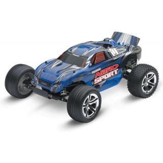 Traxxas Nitro Sport 1:10 RTR modrý