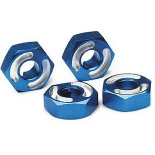 Traxxas - náboj kola hliník modrý (4)