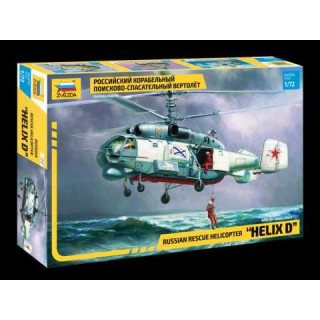 Model Kit vrtulník 7247 - KA-27 Rescue Helicopter (RR) (1:72)