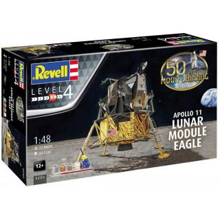 "Gift-Set 03701 - Apollo 11 Lunar Module ""Eagle"" (50 Years Moon Landing) (1:48)"