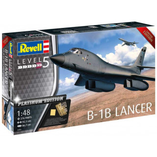Plastic ModelKit letadlo Limited Edition 04963 - B-1B Lancer (Platinum Edition) (1:48)