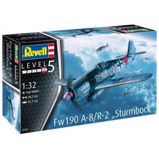 "Plastic ModelKit letadlo 03874 - Fw190 A-8 ""Sturmbock"" (1:32)"
