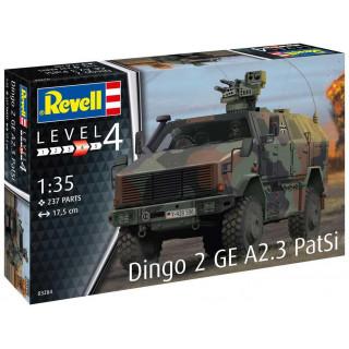 Plastic ModelKit military 03284 - Dingo 2 GE A2.3 PatSi (1:35)