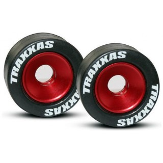 Kolo wheelie hliník červený s pneumatikou (2)
