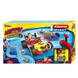 Autodráha Carrera FIRST - 63030 Mickey Racers