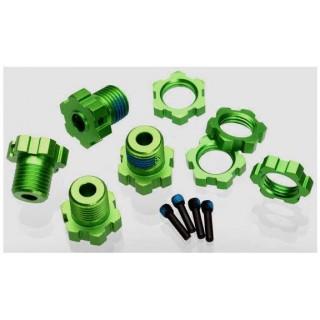 Traxxas - náboj kola 17mm hliník zelený (4)