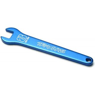 Traxxas - klíč 8mm hliníkový modrý