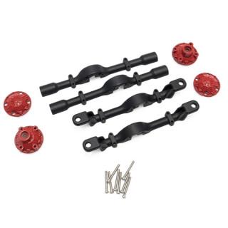 CR4/PR4/CR6 hliníkové přední a zadní poloosy