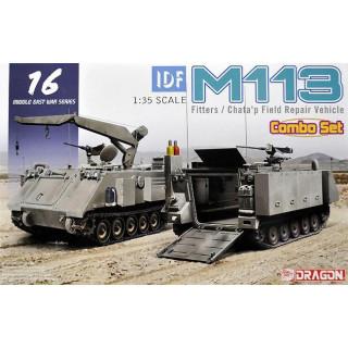 Model Kit military 3622 - IDF M113 Fitters & Chata'p Field Repair Vehicle (1:35)