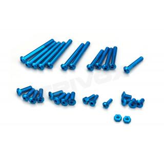 Hliníkové šrouby modré pro EX-RR/EX-2, sada