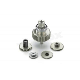 Převody hliníkové pro RSx3-ONE 10 FLECTION servo