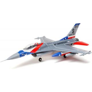 E-flite F-16 Falcon 0.7m SAFE Select BNF Basic