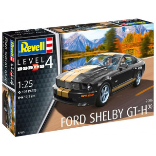 Plastic ModelKit auto 07665 - Shelby GT-H (2006) (1:25)