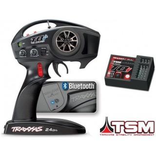 Traxxas vysílač 4k TQi s BlueTooth modulem, TSM přijímač