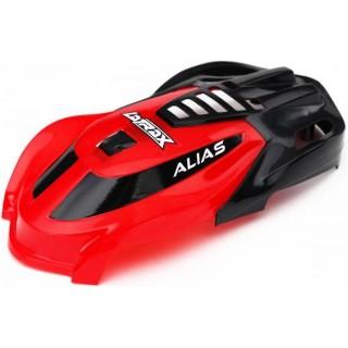 LaTrax Alias: Kabina červená, vrut 1.6x5 (3)