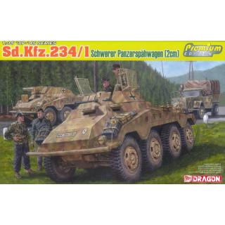 Model Kit military 6879 - Sd.Kfz.234/1 schwerer Panzerspähwagen (2cm) (1:35)