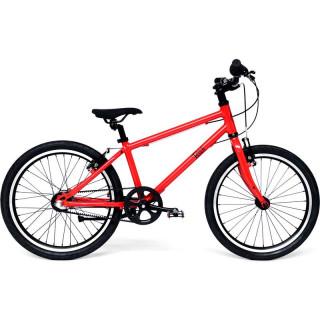 """Bungi Bungi - Dětské kolo 20"""" 3-rychlostní ultra lehké jahodová červená"""