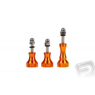 Osmo Action - Hliníkové šrouby oranžové (3ks)
