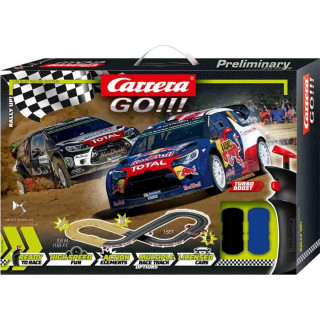 Autodráha Carrera GO 62496 Rally up!