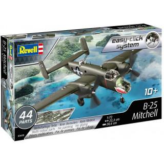 EasyClick ModelSet letadlo 63650 - B-25 Mitchell (1:72)