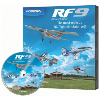 RealFlight simulátor 9 jen software