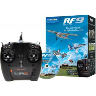 RealFlight simulátor 9, ovladač Spektrum