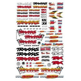 Traxxas - samolepky Traxxas Team Racing