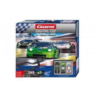 Autodráha Carrera D132 30007 GT Triple Power