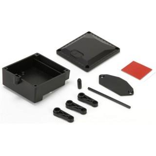 ASN: Krabička přijímače, držák regulátoru