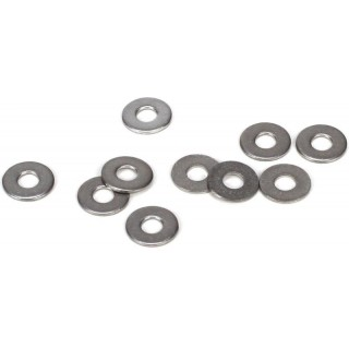Ocelová podložka 2.5x4.6x0.5mm (10)
