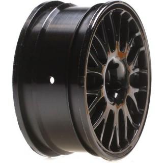 V100: Disk univ. 54x26mm černý/chrom (2)