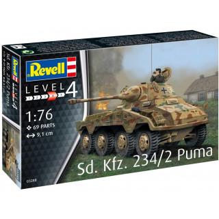 Plastic ModelKit military 03288 - Sd.Kfz. 234/2 Puma (1:76)