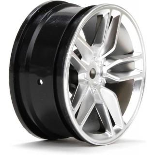 V100: Disk přední 54x26mm Corvette Z51 černý (2)