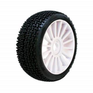 1/8 KILLER SPORT gumy nalepené gumy, bílé disky, 2ks.