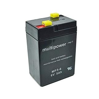 Pb akumulátor MULTIPOWER 6V/5,0Ah
