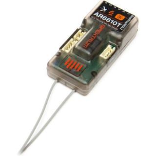 Spektrum přijímač AR6610T DSM2/DSMX 6CH s telemetrií
