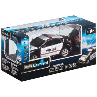 Autíčko REVELL 24655 - BMW X6 Police
