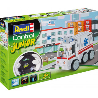 Autíčko REVELL 23013 JUNIOR - Ambulance - 27 MHz