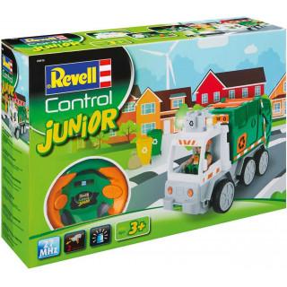 Autíčko REVELL 23015 JUNIOR - Garbage Truck - 27MHz
